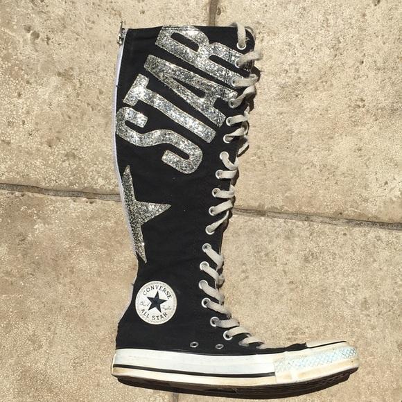 converse all star knee high